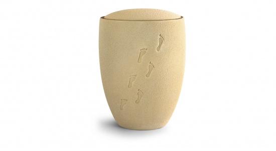Keramik-Urne, Sand   <small>(25)</small>